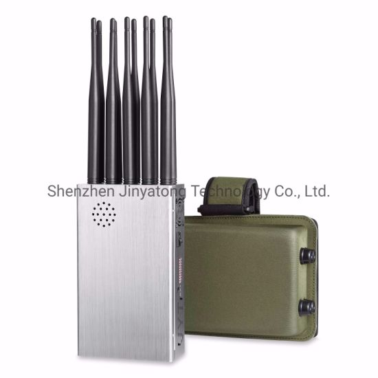 10 Antennas Plus 2g. 3G. 4G. Cell Phone Signal Jammer GPS. WiFi Lojack 5.8gwith Longer 2.0dBi Gain Antennas. 12000mAh Battery pictures & photos
