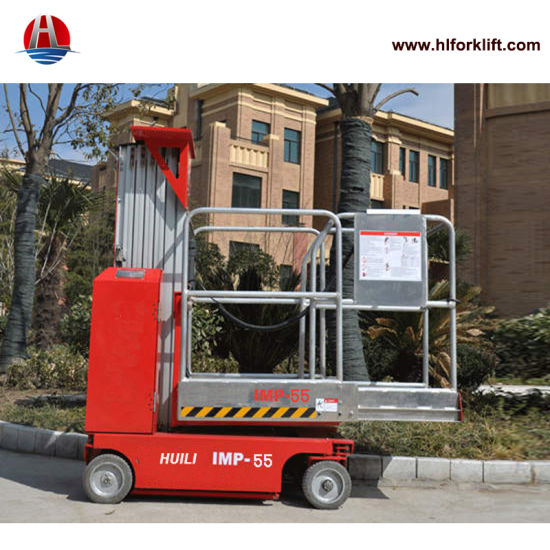 Self-Propelled Aerial Work Platform Imp 55 Max Lifting Height 5.5 Meters for Sale