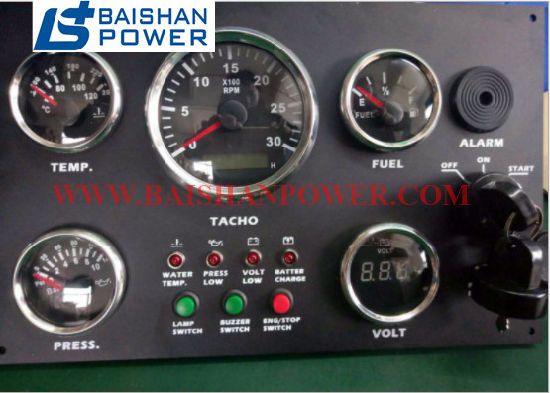 China Diesel Generator Controller Panel Engine Gauge Panel Car Boat Truck Vdo Gauge Dash Cluster Panel Programmable Gauges Instrument Panel Multi Function Gauge China Controller Controller Panel
