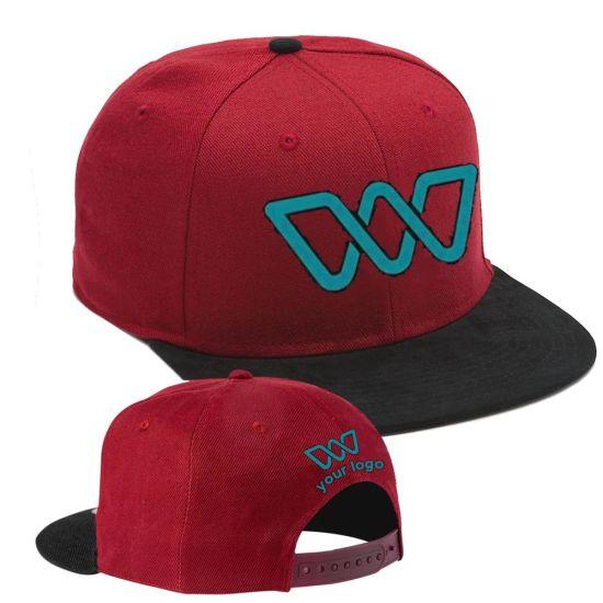 Custom Snapback Caps Supplier Factory Brand Hip Hop Bump Plaid Baseball Face Dad Cap Hip Hop Flat Bill Hat Caps