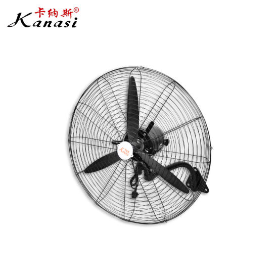 """20 26 30 """" Inch 500 650 750 mm Industrial Chinese Wall Fan with Aluminum or Plastic Blade"""