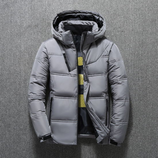 High Quality Men Casual Fashion Winter Windproof Duck Down Jackets pictures & photos