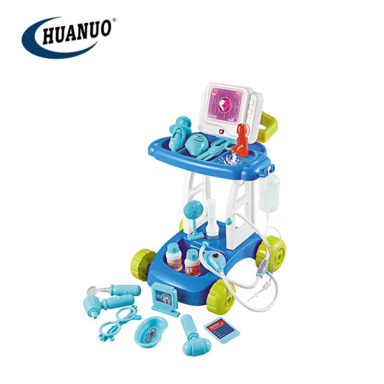 New Promotional Kids Doctor Set Toys Medical Go-Cart with Water and Function pictures & photos