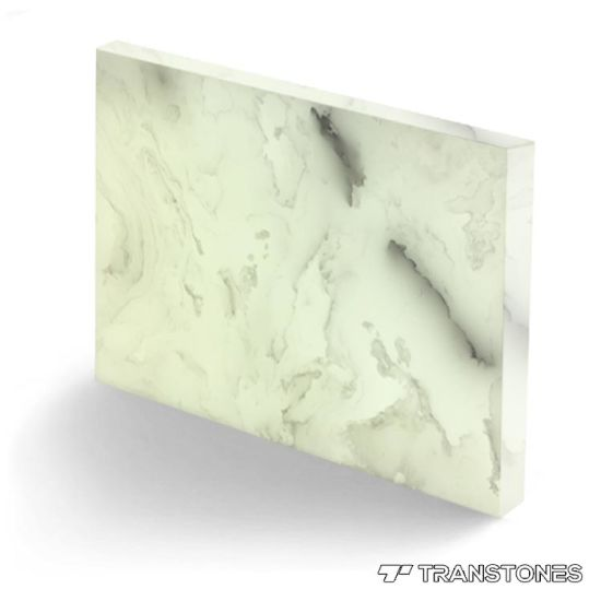 Wholesale 8mm Alabaster Acrylic Sheet Cut to Shape
