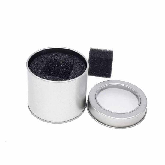 Wholesale Round Mini Metal Wedding Tin Gift Box