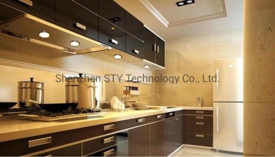 Hot Item Dc 12v Ed Hand Motion Sensor Led Under Puck Furniture Cabinet Wardrobe Lighting