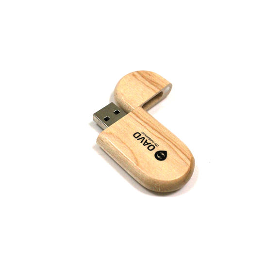 Eco-Friendly Wooden USB Flash Drive Oval Wood USB Stick 2GB 4GB 8GB 16GB USB Pen Drive/USB Flash Memory/Flash Drive