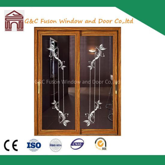 China Factory Price Modern House Wooden Sliding Aluminium Doors/Lift ...