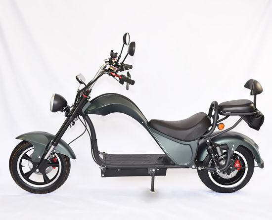 Wholesale China 2021 Best New Ecorider Motorcycle EEC Fat Tire Three Golf 1500W Chopper Adult Electric Mobility Bicycle Motorbike E Niu 6000W Citycoco Scooter