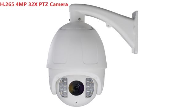 Fsan 4MP 8 Inch 32X Optical Zoom Smart IR Infrared High Speed Dome PTZ Camera