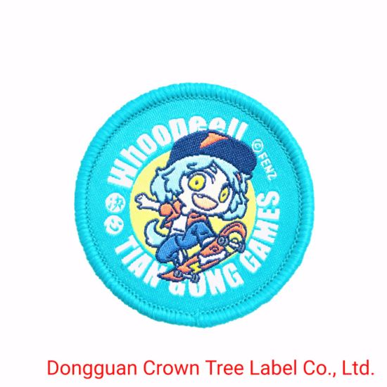 Top Selling Blue Mountain Rescue Woven Patch for Various Kind of Organizations Uniform