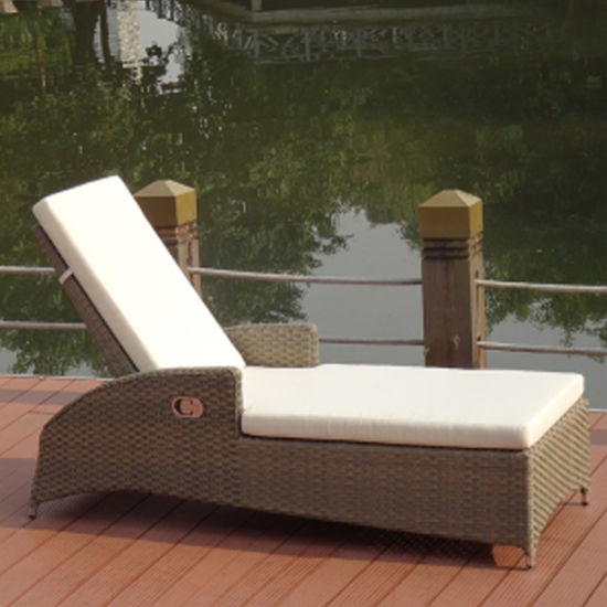 Tremendous Garden Treasures Outdoor Furniture Lying Bed Lounge Chair Theyellowbook Wood Chair Design Ideas Theyellowbookinfo