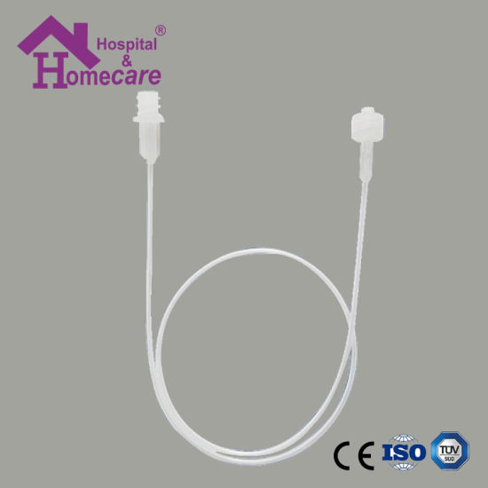 Medical Sterile Disposable PE Catheter Extension Set with High Pressure Tubing