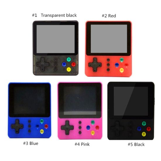 2020 Newest 500 in 1 TV Video Games Console Pocket Handheld Game Player Sup Game Box for Kids