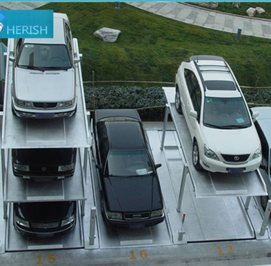 Automatic Underground Car Parking Lift