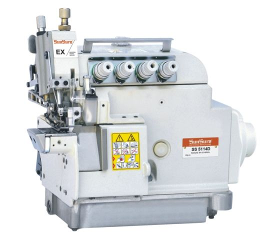 Super High Speed Small Cylinder Bed Overlock Sewing Machine