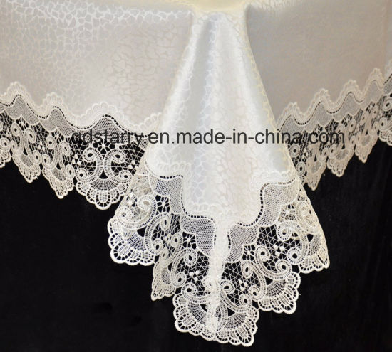 2018 New Design of Lace Tablecloth pictures & photos