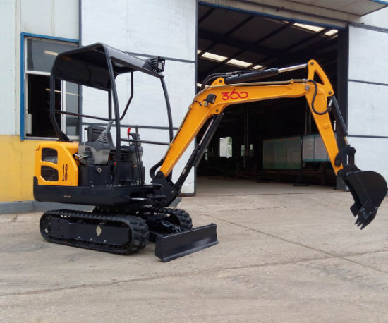 Hzm18 1.8 Ton Small Mini Crawler Digger Excavator with Ce pictures & photos
