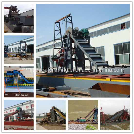 China Low Price Gold Mining Cutter Suction Dredger for Sale