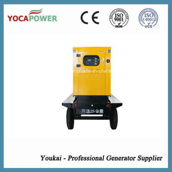 10kw Electric Mobile Trailer Diesel Generator pictures & photos