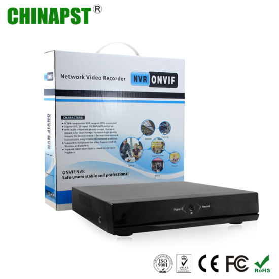 China Support iPhone & Android APP Security Network 1080P 4CH NVR