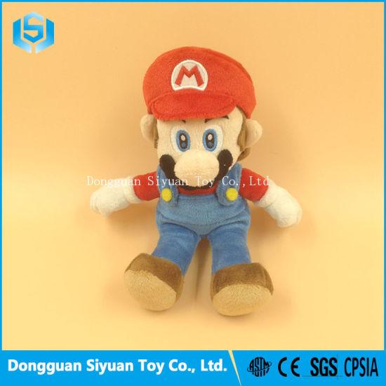 Super Plush Game Character Doll Mario Stuffed Toy China Plush