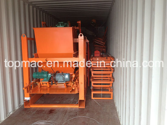 Full Automatic Hydraulic Interlocking Block Making Compressed Earth Blocks Machines pictures & photos