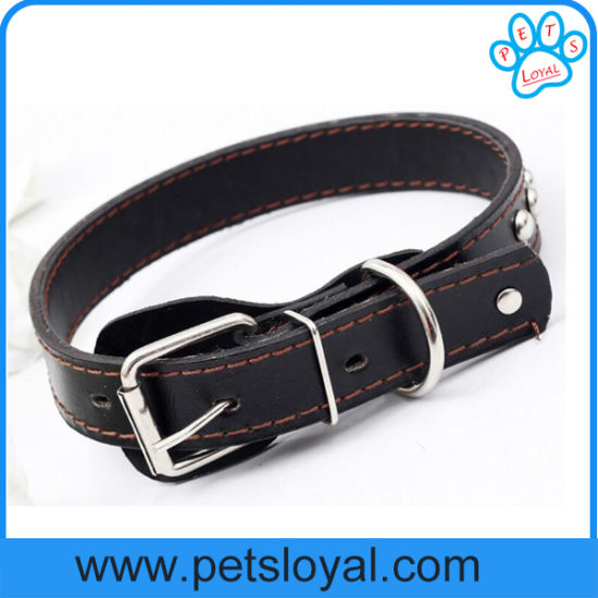 2016 New Pet Product Leather Dog Pet Collar (HP-106) pictures & photos