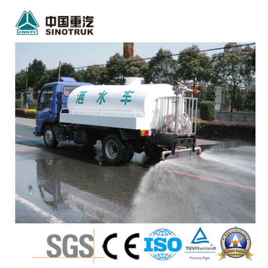 Top Quality Water Spray Truck of Sinotruk 3-5t