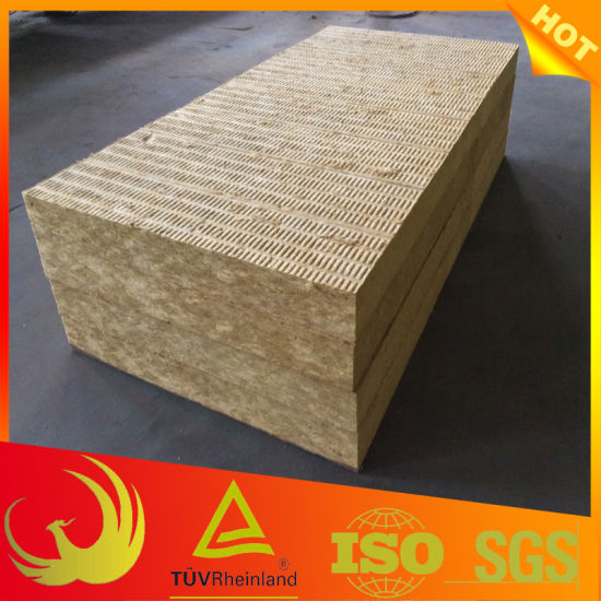 Thermal Insulation Rock Wool Mineral Wool Slab pictures & photos