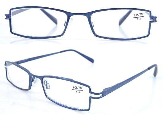 Promotional Gifts Glass Metal Full Frames Reading Glasses Passes CE