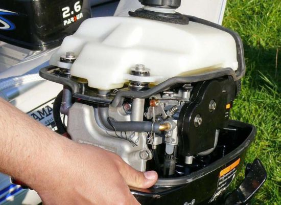 2.6HP 4-Stroke Outboard Motor pictures & photos