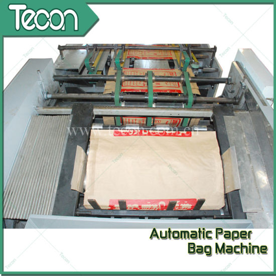 Automatic Multi-Layer Bottom-Pasted Paper Bag Making Machine pictures & photos