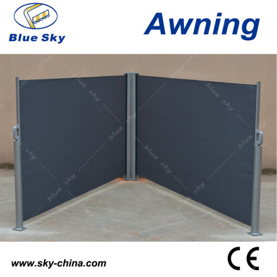 Popular Polyester Retractable Side Screen Awnings B700 3