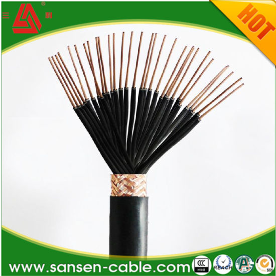 Kvvp 450/750V PVC Insulation PVC Sheathed Copper Wire Shielded Control Cable pictures & photos