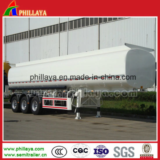 56.14 M3 Tri-Axle LPG Tank Semi Trailer Manufacturer pictures & photos