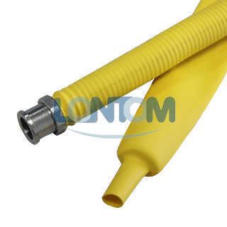 Yellow Heat Shrinkable Gas Hose Tube pictures & photos