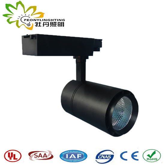 20W Track Lights with Track Adapter 3-5 Years Warranty and Small Angle LED Track Spot Lights