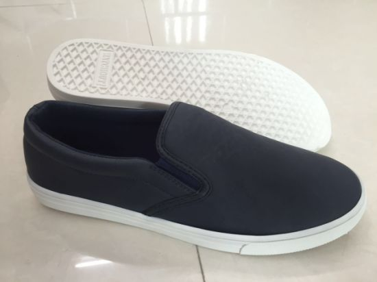 Good Quality Slip on Canvas Shoes Casual Shoes Sport Shoes for Men (SD0614-10)