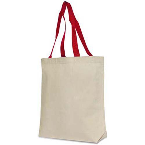 Reusable Large Cotton Canvas Shopping Tote Bag with Handle Wholesale (CTB-1019)
