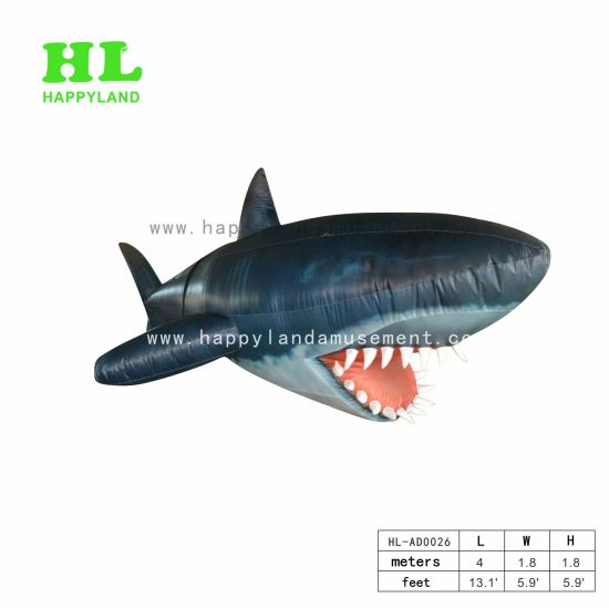 Big Shark Advertising Commercial Activity Inflatable Toys Display