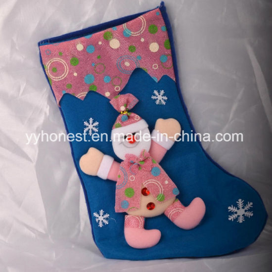 Personalised Christmas Santa Present Gift Christmas Stocking for Decoration pictures & photos