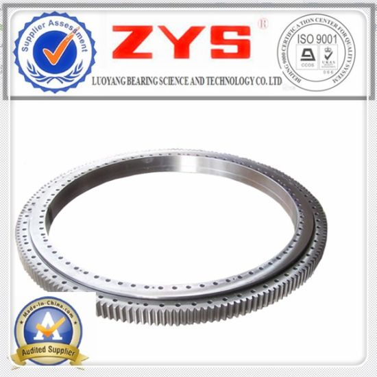 China Superior Single Row Cross Roller Slewing Bearing Manufacturer Zys pictures & photos