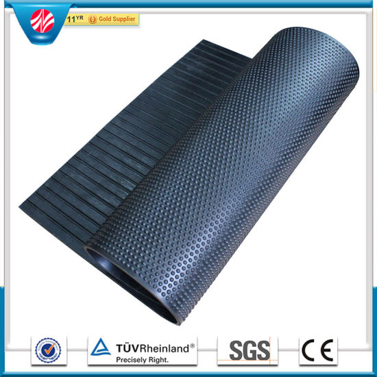 Cow Stall Mat Rolled Alley Stable Mats Bubble Top Rubber Stable Mat pictures & photos