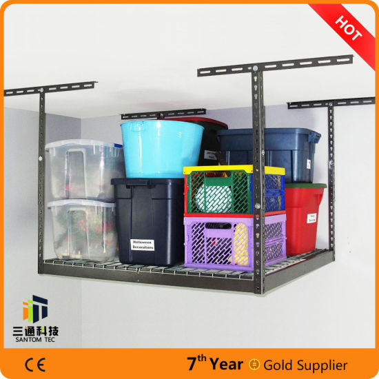 China Garage Storage Systems Ideas Ceiling Rack Shelving Metal