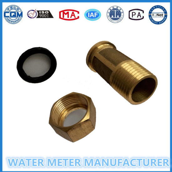 Brass Water Meter Connetors/Accessories/Fittngs pictures & photos