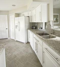 Wholesale Polished New Indian Kashmire White Granite Kitchen Countertop