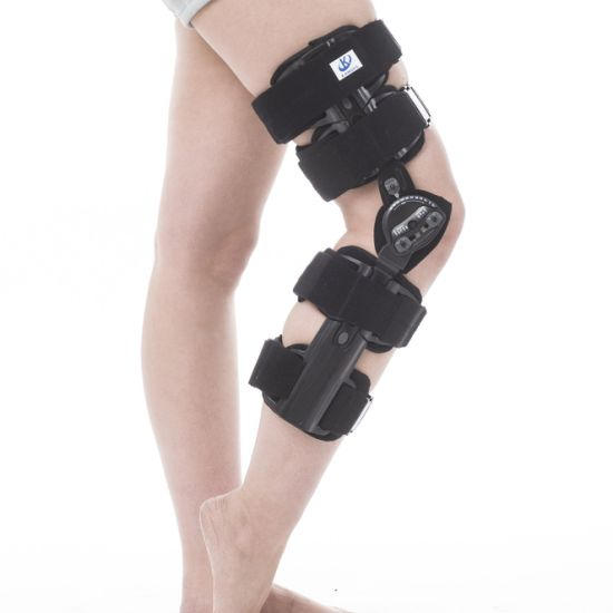 be68706842 Hinged Knee Brace Support Stabilizer Orthosis Splint Immobilizer Guard  Protector ROM Range of Motion Adjustable Medical