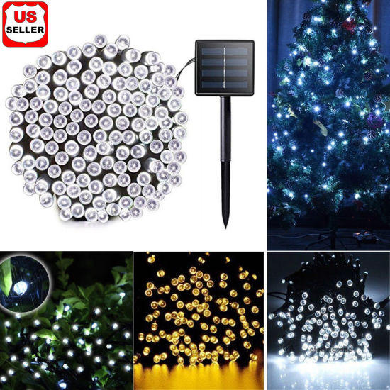 multi color sun powered waterproof fairy string lights solar christmas lights 200300leds multifunction decorative lamp outdoor - Multifunction Christmas Lights