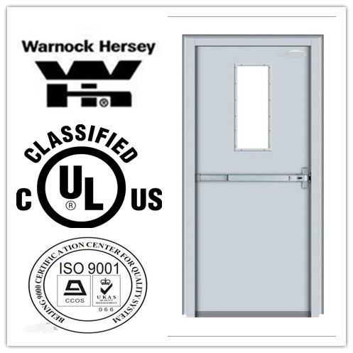Competitive Price Fire Rated Steel Door with UL Certification pictures & photos